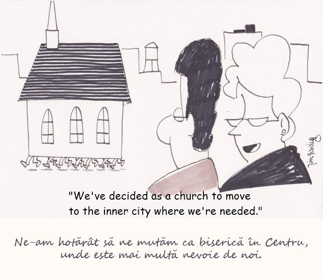 ne mutam ca biserica